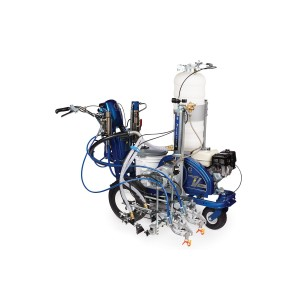 GRACO LineLazer V 200HS HP Reflective Series - Two Gun, Automatic, Pressurized Beads Installed 1Tank - 17H465