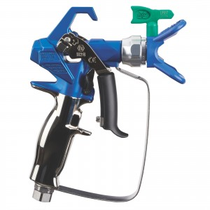 Graco Contractor PC Airless Spray Gun with RAC X LP 517 SwitchTip-17Y043