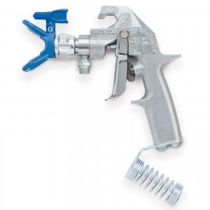 GRACO Flex Plus Airless Spray Gun, 2 Finger Trigger, RAC X-246468