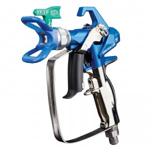 GRACO Contractor PC Airless Spray Gun with RAC X FFLP 210 SwitchTip - 17Y470