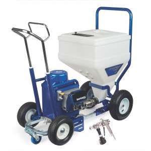 GRACO TexSpray T-MAX 6912 Electric Texture Sprayer, STX Gun, 100 ft Hose - 17Z284
