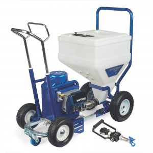GRACO TexSpray T-MAX 6912 Electric Texture Sprayer, Lance Gun, 50 ft Hose - 17X989