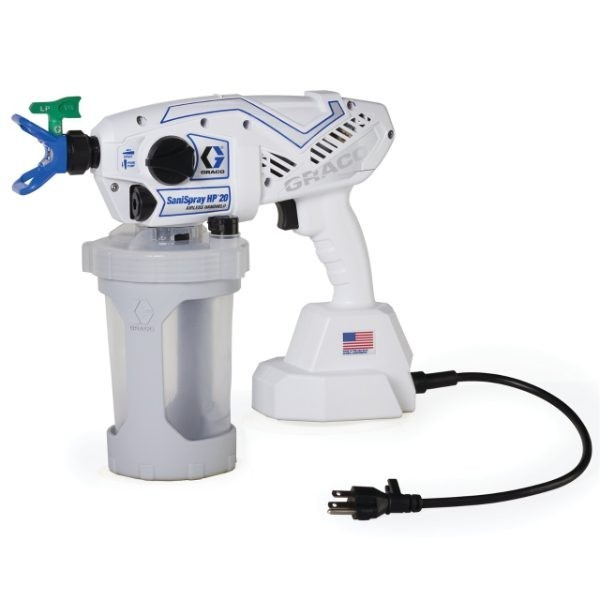 Graco SaniSpray HP 20 Corded Handheld Airless Disinfectant Sprayer 25R790