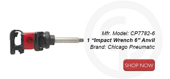 "CP7782-6 1"" Impact Wrench 6"" Anvil"